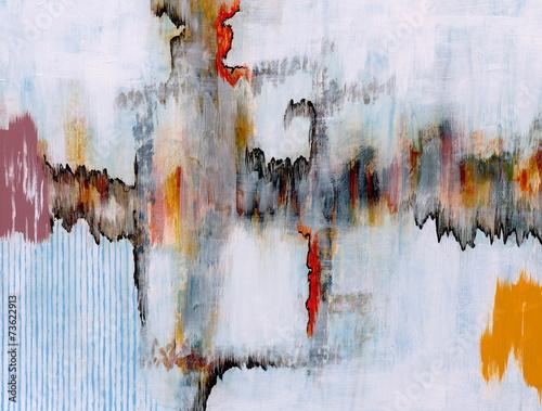 Obraz premium malarstwo abstrakcyjne