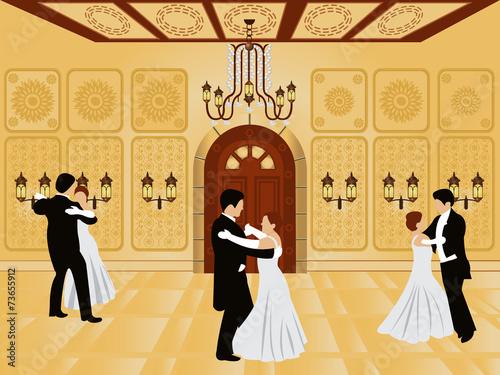 Fotografía cartoon interior - ballroom