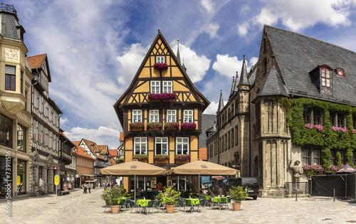 Stare niemieckie domy w Quedlinburgu 06592