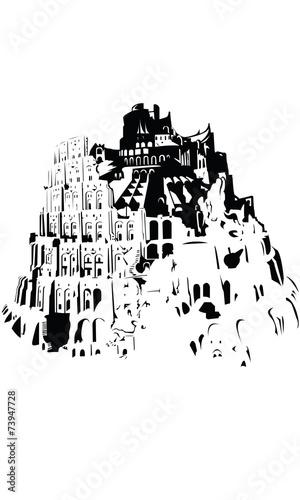 Fényképezés Tower of Babylon - Turmbau zu Babel