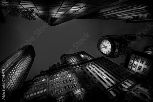 Naklejki na meble New York Avenue z perspektywy żaby