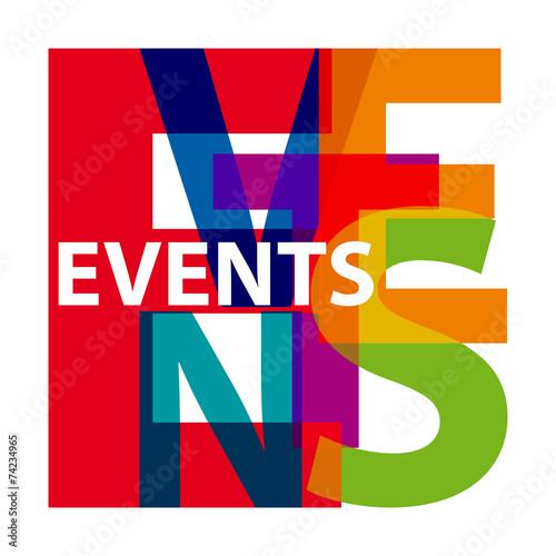 Vector events. Broken text #74234965