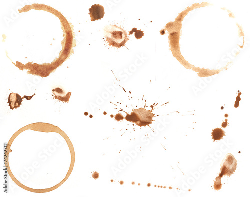 Coffee Rings and Splatters