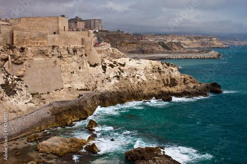 Fortress in Melilla