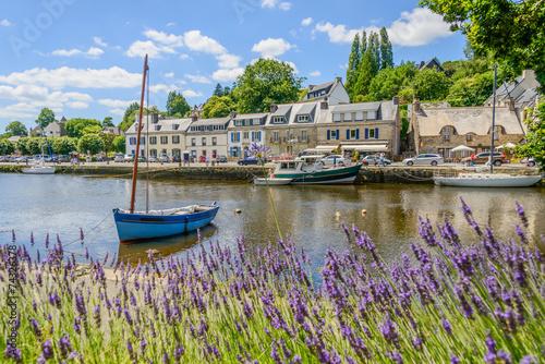 Cuadros en Lienzo Bretagne_Pont-Aven_Hafen