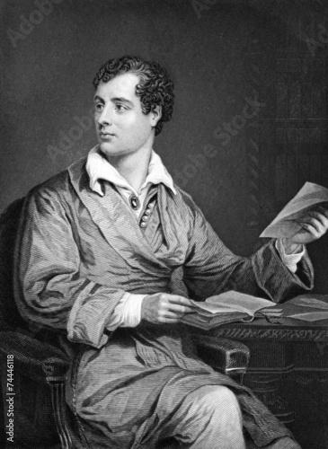 Canvas-taulu Lord Byron