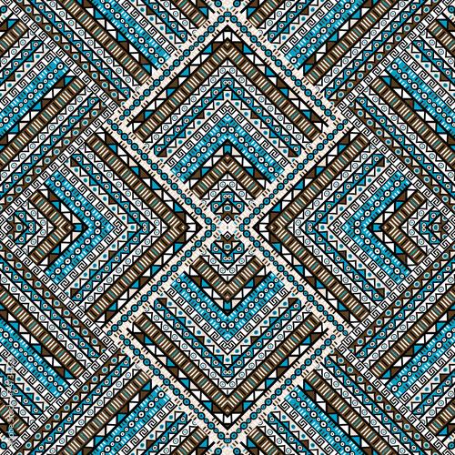 Wallpaper Mural Ethno patchwork design
