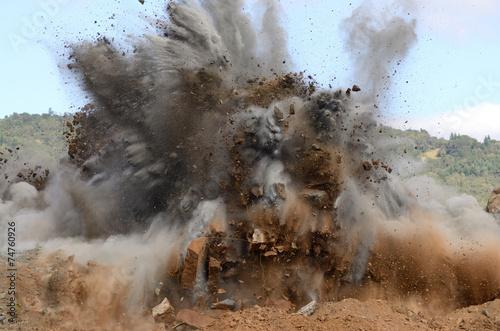 Fotografia, Obraz Air Hill Blast 7
