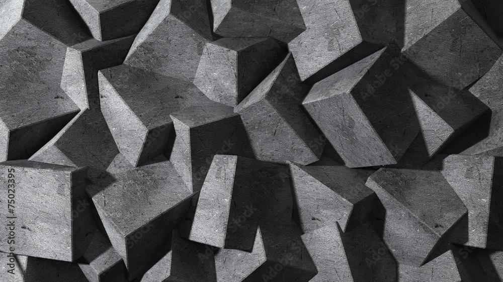 Streszczenie tło betonu <span>plik: #75023395 | autor: Nikita Kuzmenkov</span>