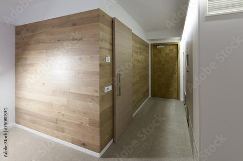 Fotografia Hotel corridor interior