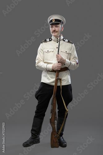Stampa su Tela Civil War in Russia, Russian Civil War 1918-1922, White Guard, T