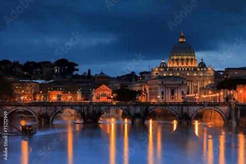 Obraz na plátne Basilique Saint Pierre au Vatican
