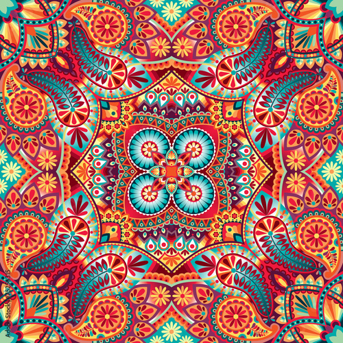 Fototapeta Kerchief vector pattern