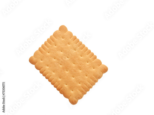 Tasty biscuits isolated Fotobehang