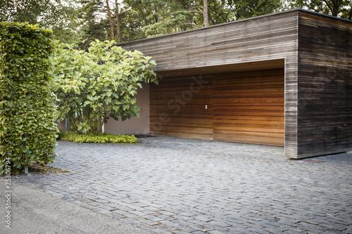 Valokuva Car garage on the countryside of switzerland