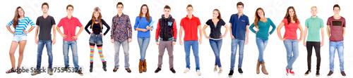 Slika na platnu teenagers