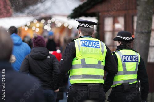 Stampa su Tela British police