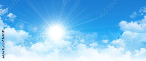 Fotografie, Obraz panoramic cloudscape