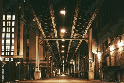 Chicago City Train Bridge #75674747