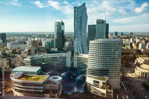 Warsaw view #75849739