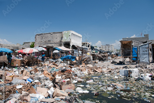 Fotografie, Obraz Downtown Port-au-Prince, Haiti