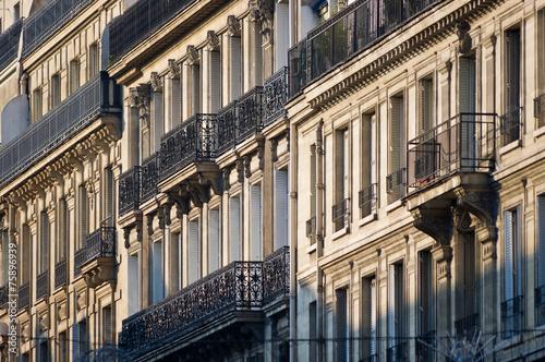 Valokuvatapetti Paris immeuble