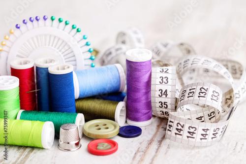 Billede på lærred sewing tools