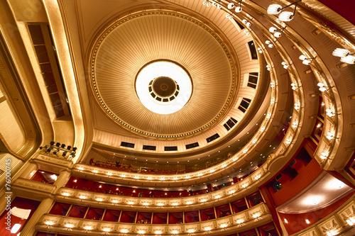 Fotografia Balconies of Vienna Opera House