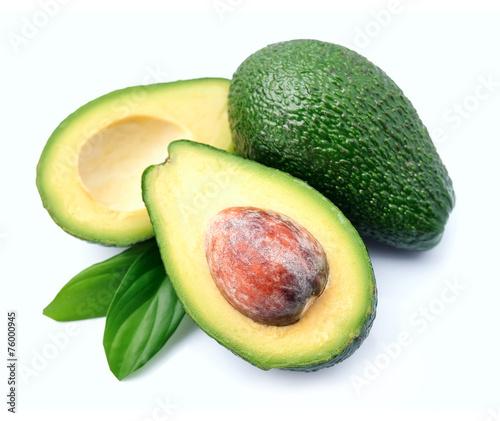 Canvas Ripe avocado