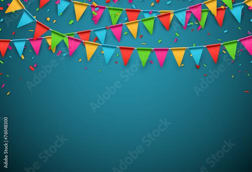 Party celebration background.