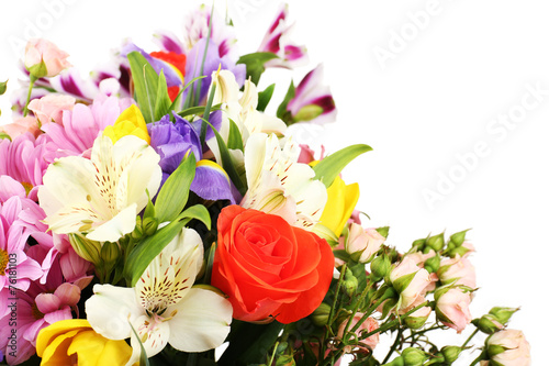 Beautiful flowers close up