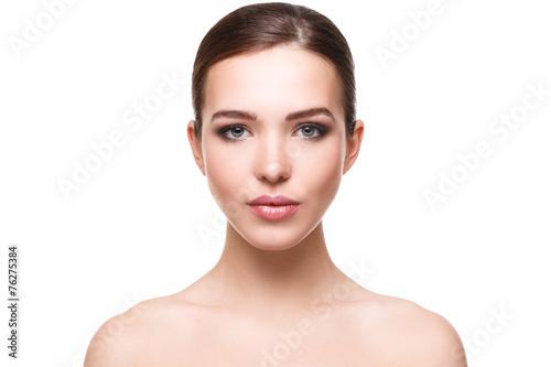 Fotografiet Woman with beautiful face