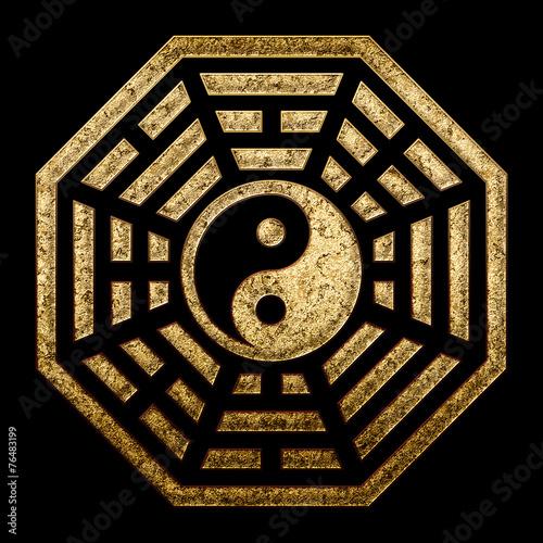 Photo Pagua Yin Yang, China, Symbol Of Reality