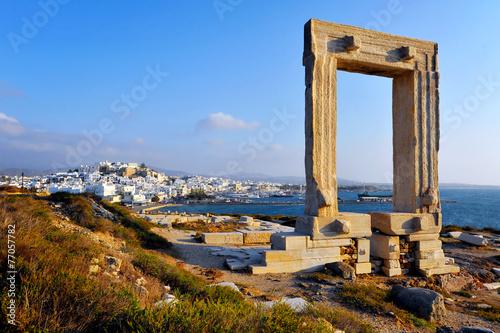 фотография Portara, Naxos island, Greece