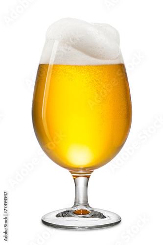 Canvas Print fresh bier