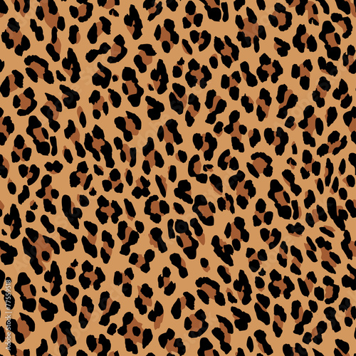 Fotografia Seamless leopard pattern