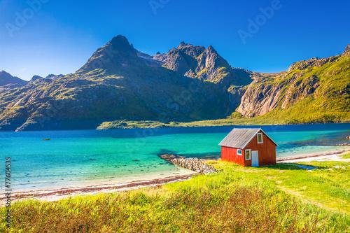 Fotografia Trollfjord, Lofoten