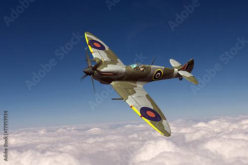 Supermarine Spitfire Fototapeta