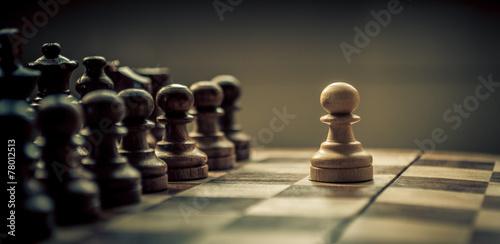 Fotografía chess game
