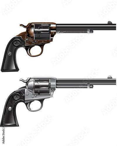 Fotografie, Obraz revolver Marshal