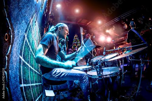 Billede på lærred Drummer