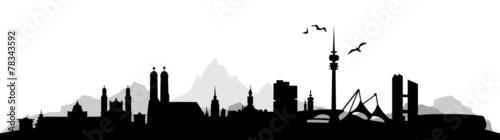 Fototapeta premium Panoramę Monachium
