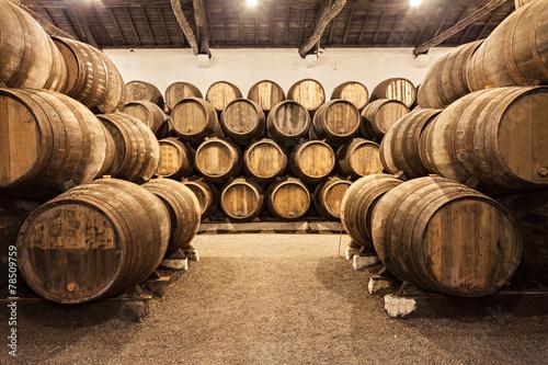 Wine cellar, Porto Fototapet