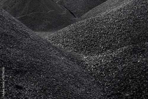 Fotografía Heaps of coal