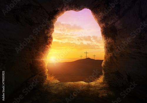 Obraz na płótnie Empty tomb