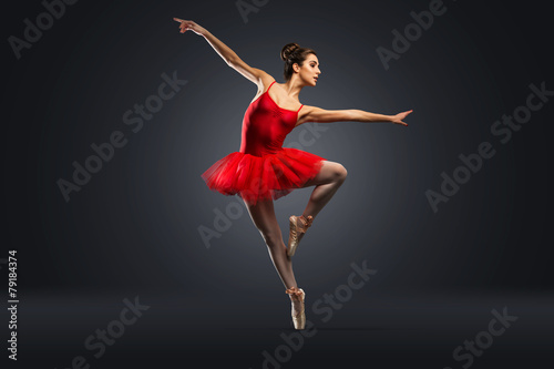 Balletttänzer Fototapete