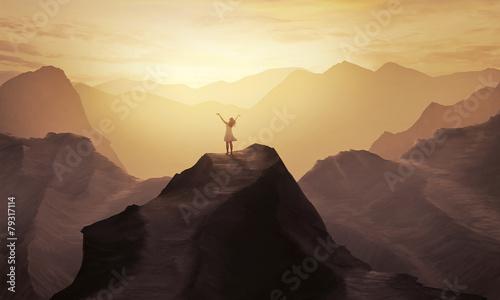 Fotografia Mountain praise