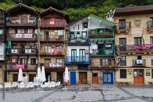 Fotografia, Obraz Houses of Pasai Donibane