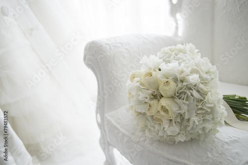Fotografia Waiting room of the bride