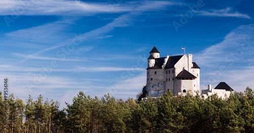 Fototapeta Zamek w Bobolicach w słoneczny dzień XL
